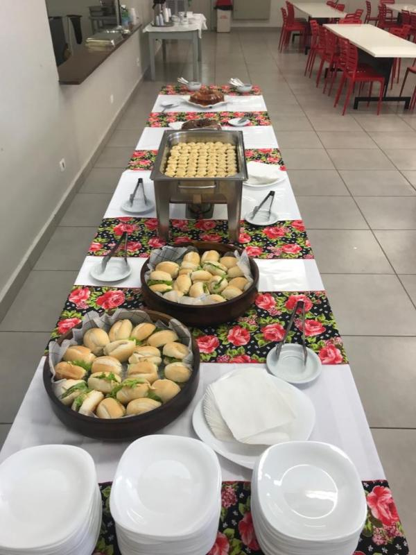 Coffee break para eventos